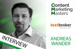 Content-Experte Andreas Wander im Vorabinterview