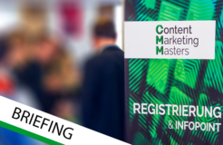 Dein Tag auf der Content Marketing Masters 2016