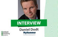#ThrowbackTuesday: Daniel Dodt im Interview