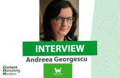 Andreea Georgescu im Interview
