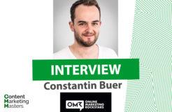 Constantin Buer im Interview