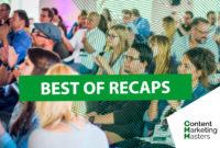 Recaps, Recaps, Recaps – so war die #CMMasters2017