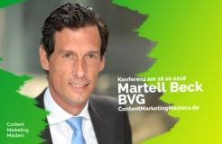 Wir stellen vor: Dr. Martell Beck