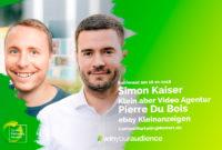 Wir stellen vor: Simon Kaiser und Pierre Du Bois