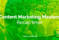 So war es bei den Content Marketing Masters 2018